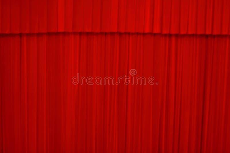 Het gordijn van het theater royalty-vrije stock fotografie