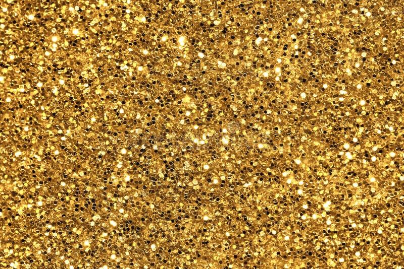 Het goud schittert achtergrond royalty-vrije stock afbeeldingen