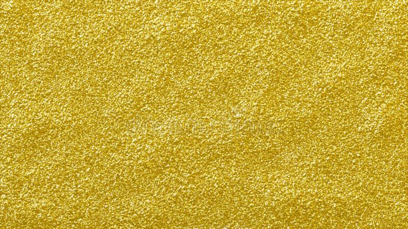 Het goud schittert glanzende abstracte achtergrond ruwe geweven gouden schittert oppervlakte stock illustratie