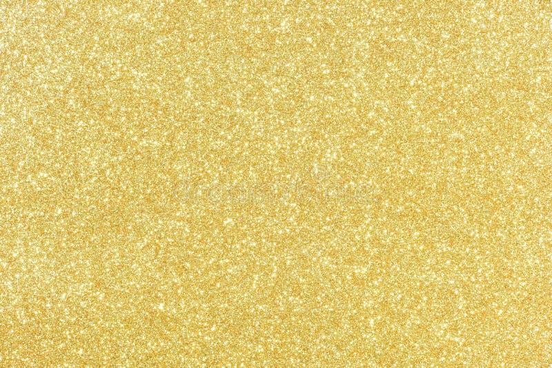 Het goud schittert textuur abstracte achtergrond royalty-vrije stock afbeelding