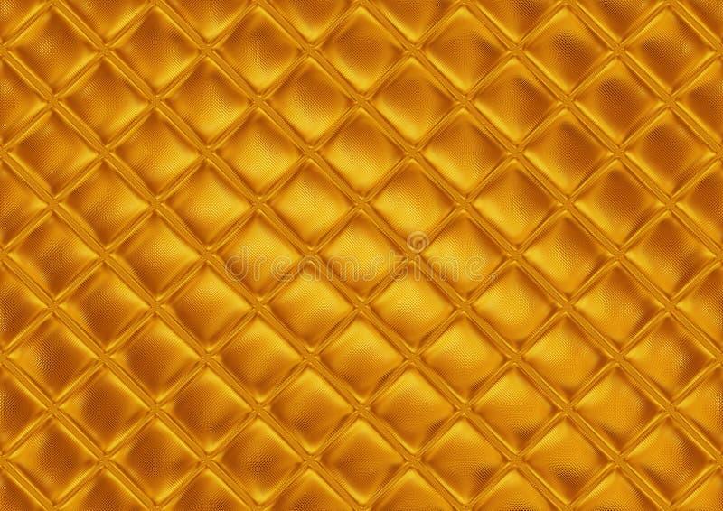 Het gouden mozaïek van de luxe vector illustratie