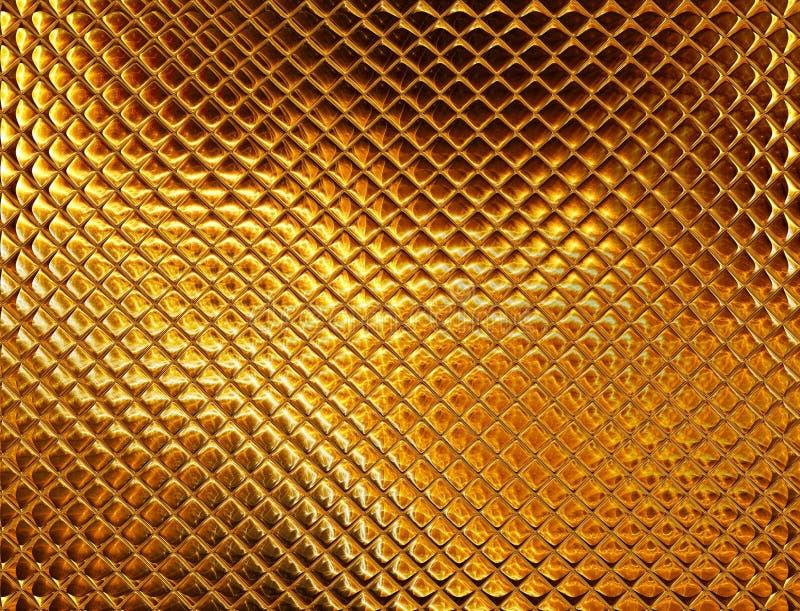 Het gouden s mozaïek van de luxe royalty-vrije illustratie