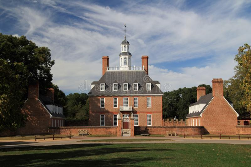 Het Governor's-Paleis royalty-vrije stock afbeelding