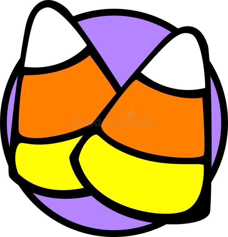 Het graan van het suikergoed vector illustratie