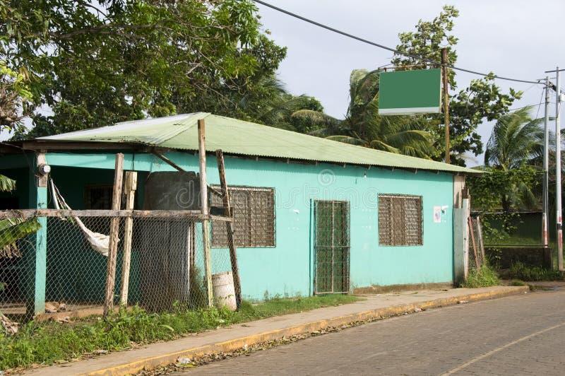 Het graaneiland Nicaragua van de kleinhandelsmarkt brig baai royalty-vrije stock foto's