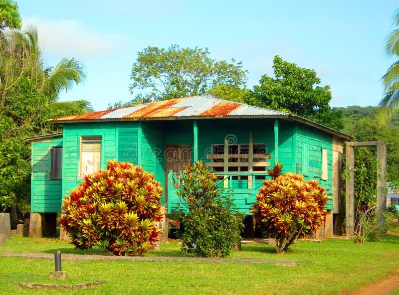 Het graaneiland Nicaragua van het huis stock fotografie