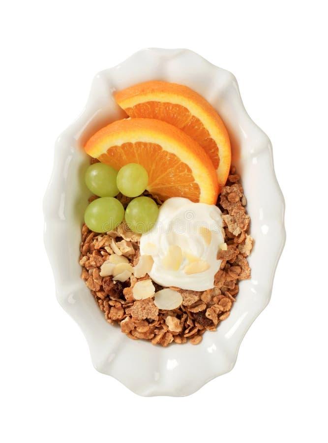 Het graangewas van het ontbijt royalty-vrije stock fotografie