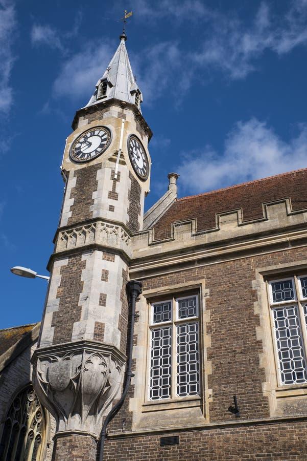 Het Graanuitwisseling van Dorchester in Dorset royalty-vrije stock afbeelding