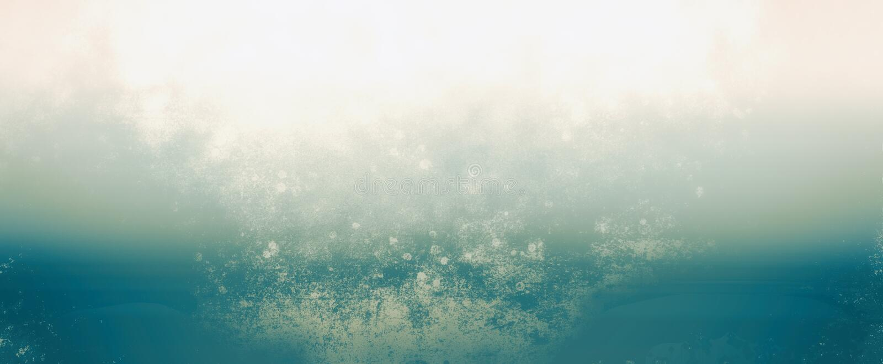 Het gradiëntlicht verdween mist of nevelontwerp in blauw en wit op uitstekende grunge geweven achtergrond langzaam, grungy artsy  stock illustratie