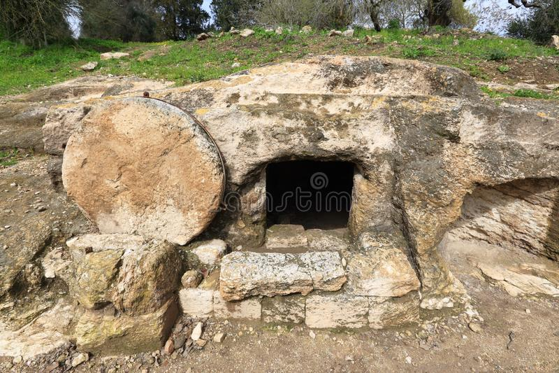 Het graf van Christus ` s stock foto's