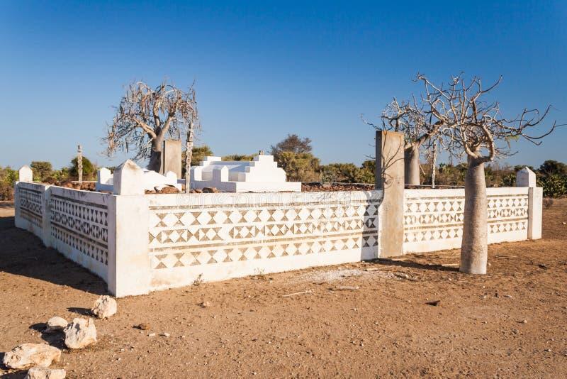 Het graf van Mahafaly stock foto