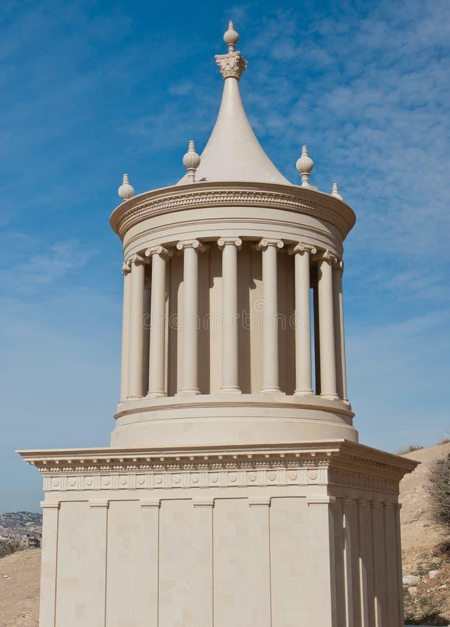 Het grafwederopbouw van Herod van de koning royalty-vrije stock foto