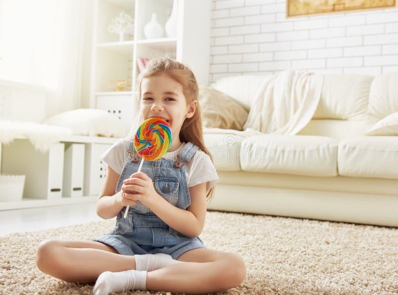 Het grappige Meisje van het Kind royalty-vrije stock fotografie