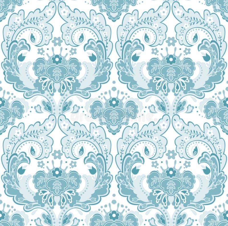 Het grijs-blauw van het behang vector illustratie