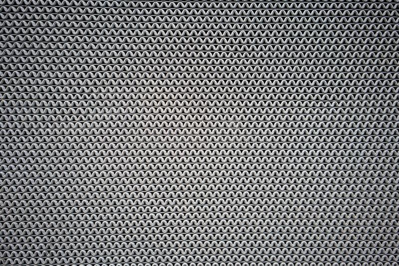 Het grijze die patroon van golflijnen van rubber voor antislipmat voor tekst wordt gemaakt royalty-vrije stock fotografie