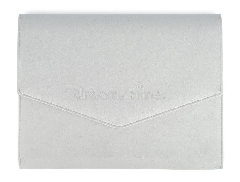 Het grijze Geval van het Suède stock afbeelding