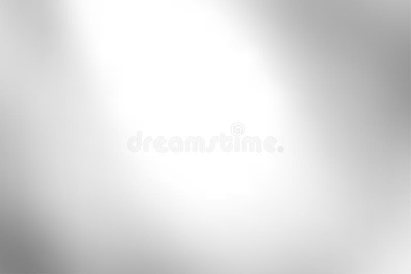 Het grijze gradiënt abstracte vector, grijze zachte lichte kader als achtergrond vertroebelde netwerktextuur voor presentatiestij stock illustratie