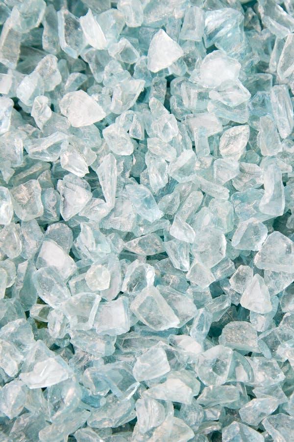 Het grint van het glas royalty-vrije stock afbeelding