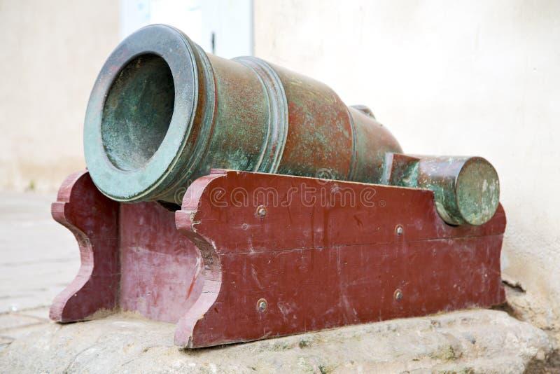 in het groene e kanon van Afrika Marokko en stock foto's