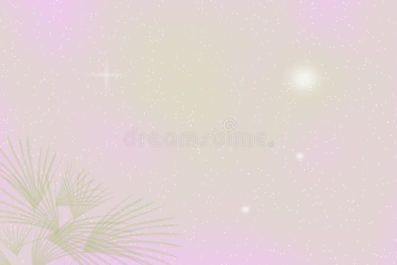 Het groene roze verlaat achtergrond, Abstract onduidelijk beeld stock afbeeldingen