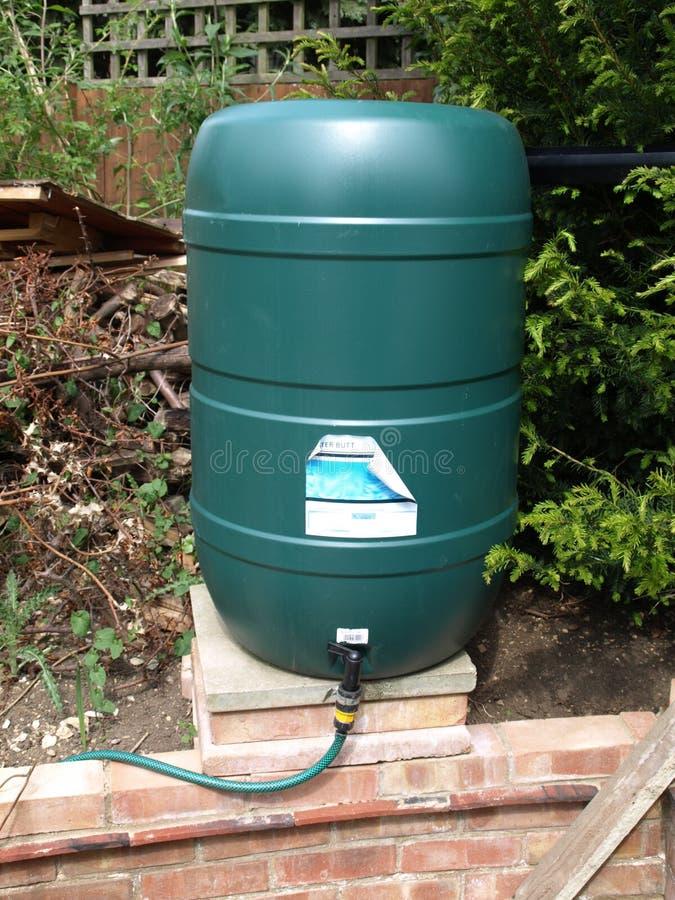 Het groene Uiteinde van het Water stock foto