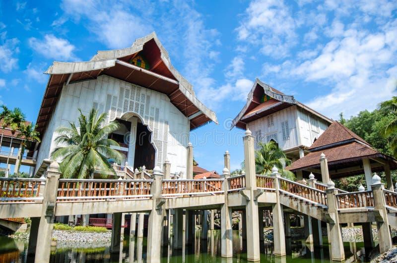 Het grootste museum in Zuidoost-Azië stock foto's