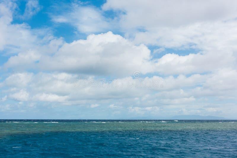 Het Grote Barrièrerif in Queensland, Australië stock afbeeldingen