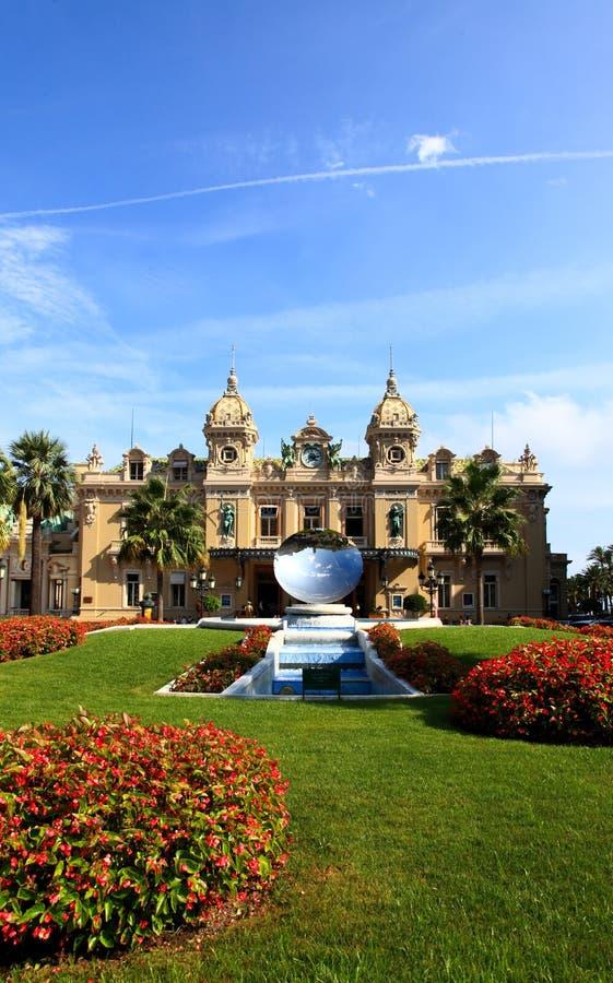 Het grote Casino Monte Carlo royalty-vrije stock foto's