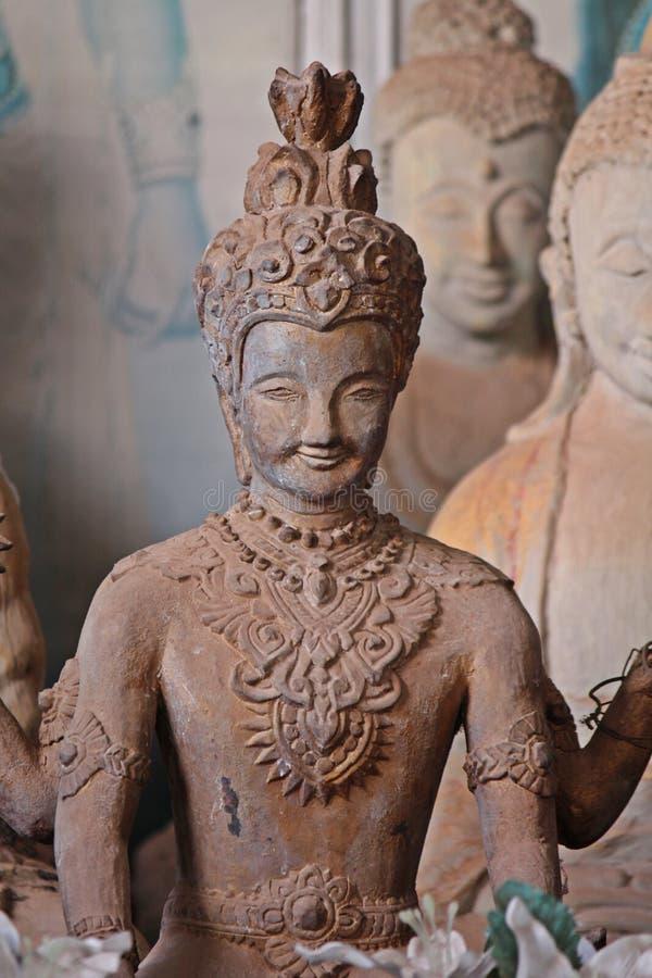 Het grote cijfer dat tot Boeddhisme en Brahmaan behoort stock foto