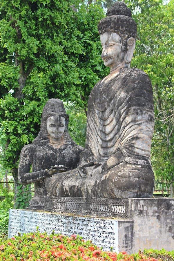 Het grote cijfer dat tot Boeddhisme en Brahmaan behoort royalty-vrije stock foto