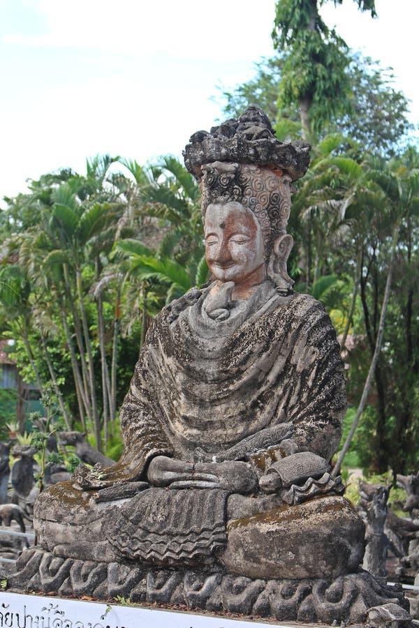 Het grote cijfer dat tot Boeddhisme en Brahmaan behoort royalty-vrije stock foto's