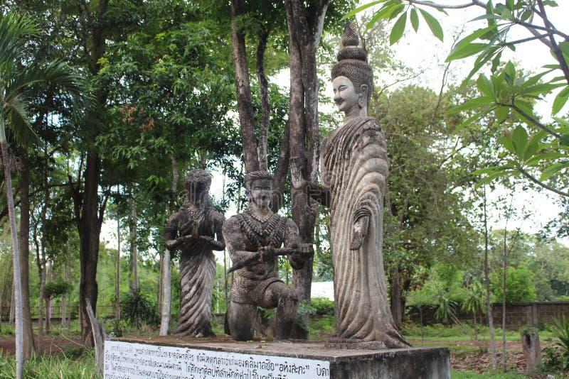 Het grote cijfer dat tot Boeddhisme en Brahmaan behoort royalty-vrije stock afbeelding