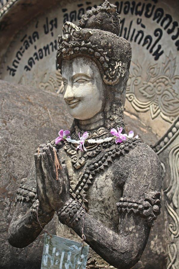 Het grote cijfer dat tot Boeddhisme en Brahmaan behoort stock foto's