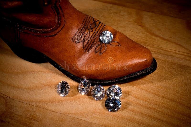 Het grote Diamanten uit Westen royalty-vrije stock fotografie