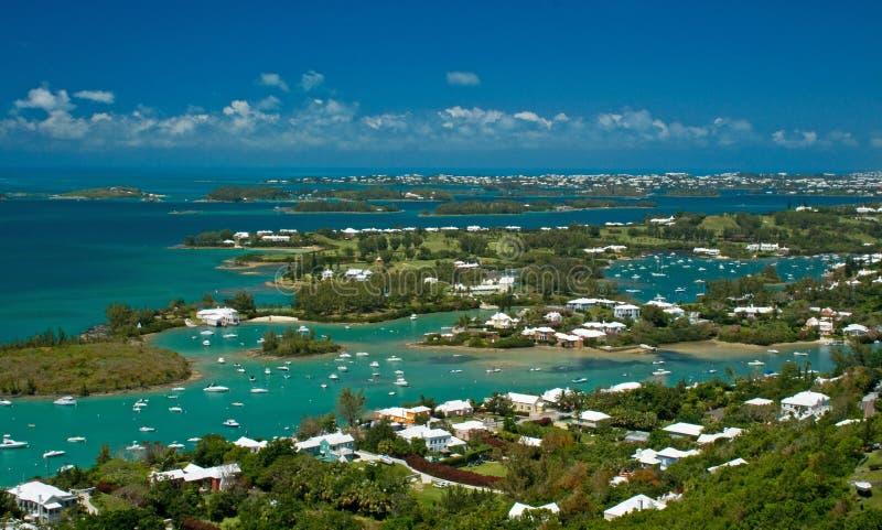 Het Grote Geluid van de Bermudas stock fotografie