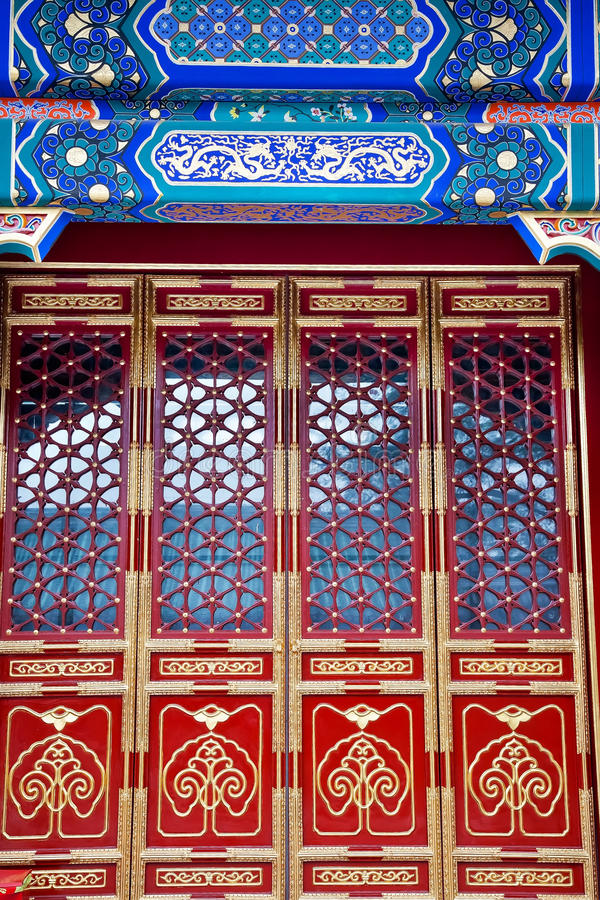 Het grote Herenhuis Peking China van de Gong van de Prins van de Zaal stock foto's