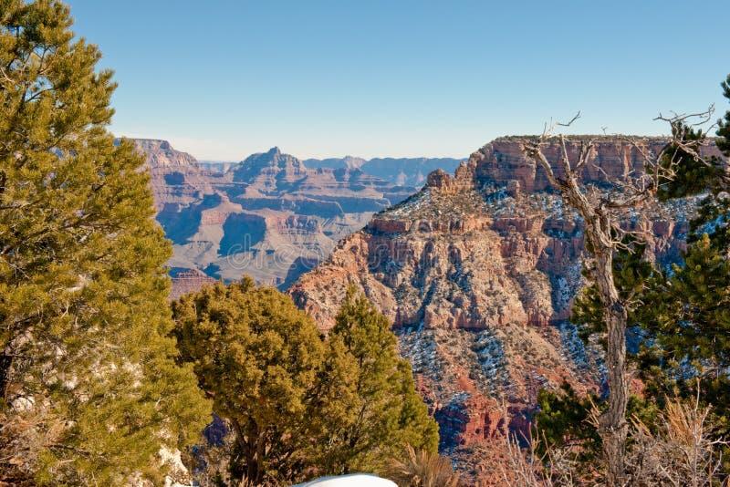 Het grote landschap van de Canion stock foto