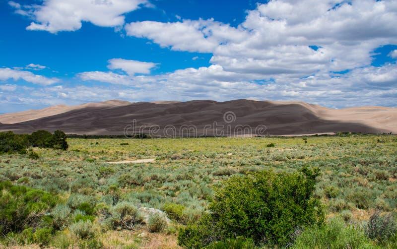 Het grote Nationale Park Colorado van Zandduinen stock afbeelding