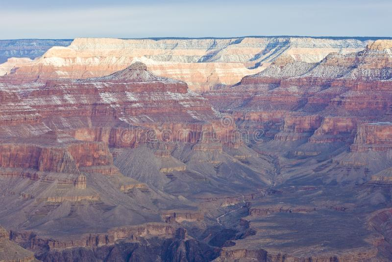 Het grote Nationale Park van de Canion, Arizona, de V royalty-vrije stock afbeelding