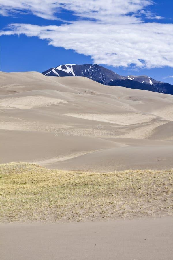 Het grote Nationale Park van de Duinen van het Zand stock foto's