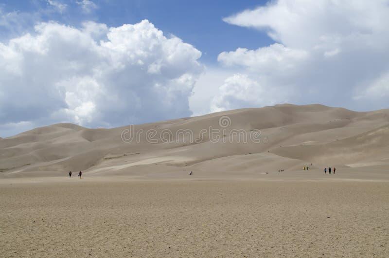 Het grote Nationale Park van Zandduinen - Colorado - de V.S. stock fotografie