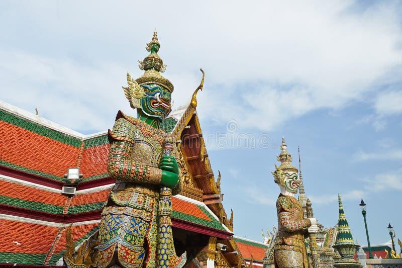 Het Grote Paleis in Bangkok royalty-vrije stock afbeelding