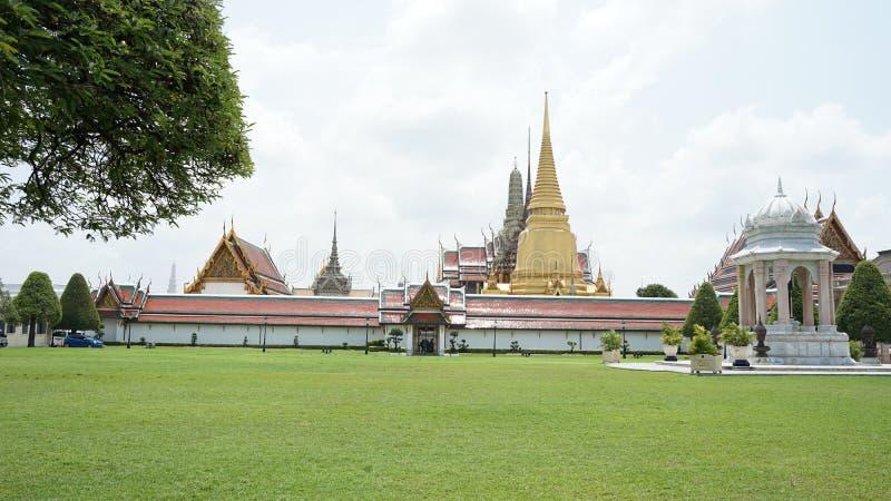 Het grote Paleis in Bangkok stock fotografie