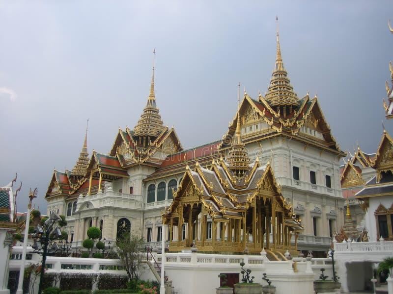 Het grote Paleis Bangkok Thailand royalty-vrije stock afbeeldingen