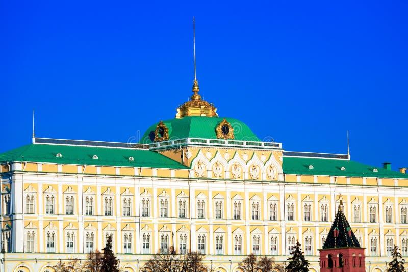 Het grote Paleis van het Kremlin, Moskou royalty-vrije stock foto