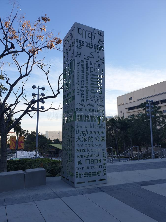 Het Grote Park - LOS ANGELES royalty-vrije stock afbeeldingen
