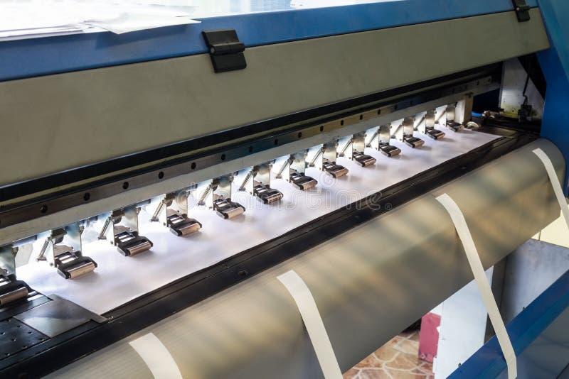 Het grote vinylzonlicht van printerinkjet royalty-vrije stock afbeeldingen
