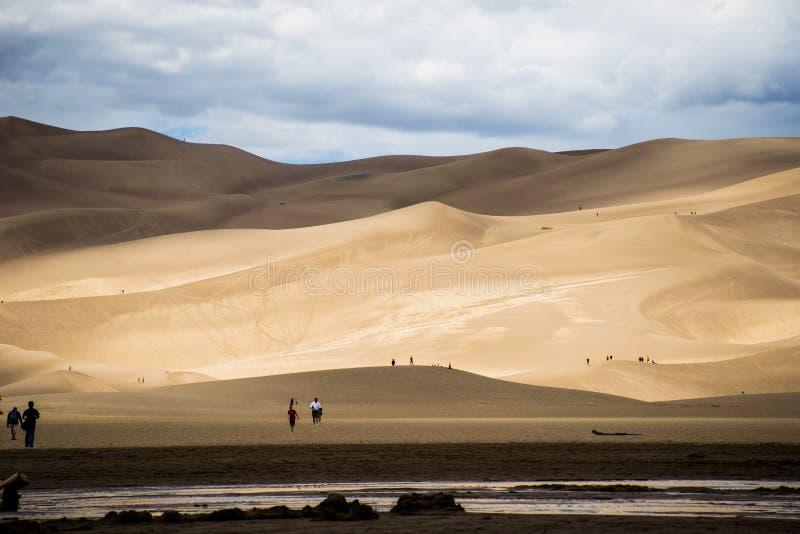 Het grote Wereldwonder van het Parkcolorado van het Zandduin Nationale royalty-vrije stock foto