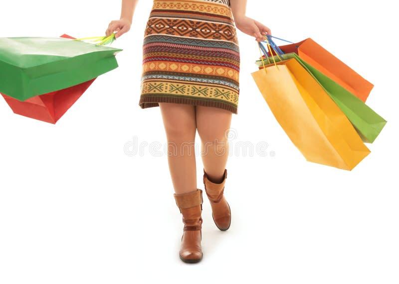 Het grote winkelen stock afbeeldingen