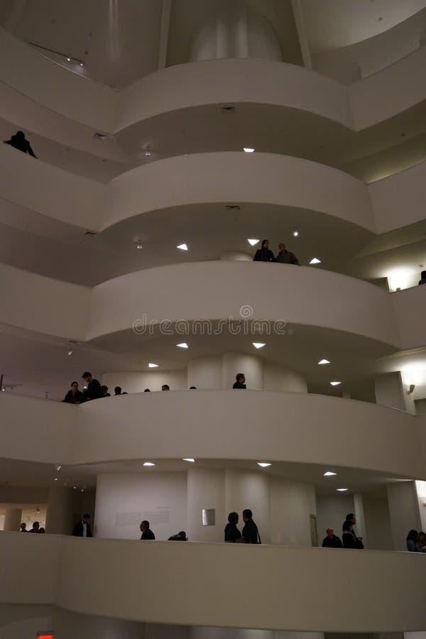 Het Guggenheim-Museum van New York 14 royalty-vrije stock foto